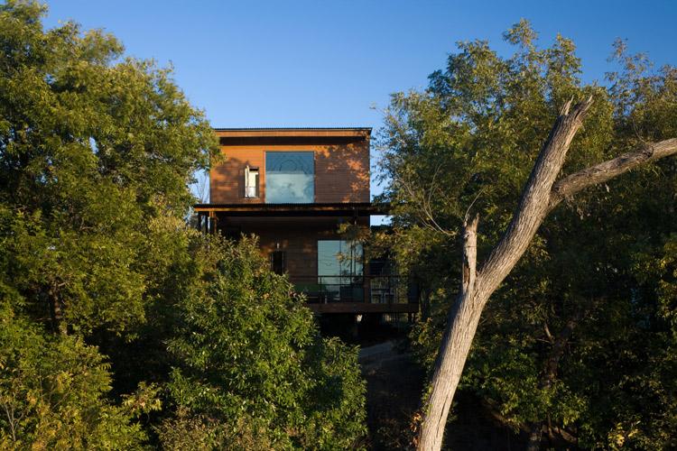 像船屋一样的住宅-建筑图