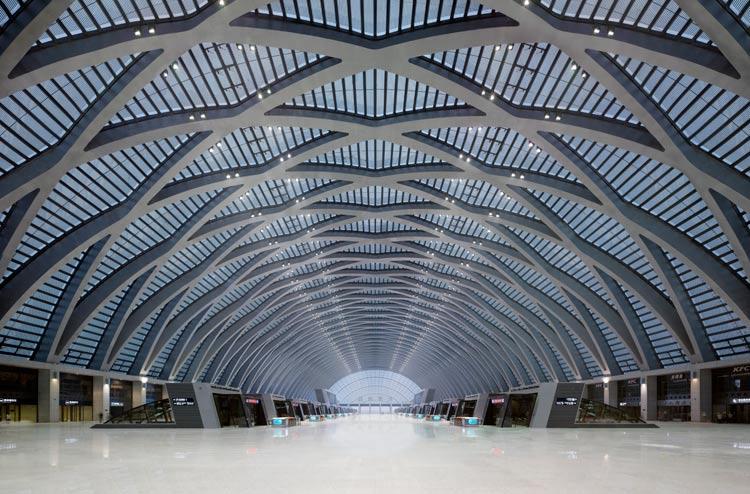 天津西站-建筑图