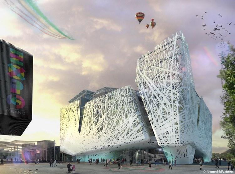 2015米兰世博会意大利馆(Milan Expo 2015: Italy Pavilion)-建筑图