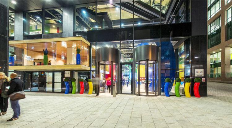 谷歌都柏林办公楼(Google Campus Dublin)-建筑图