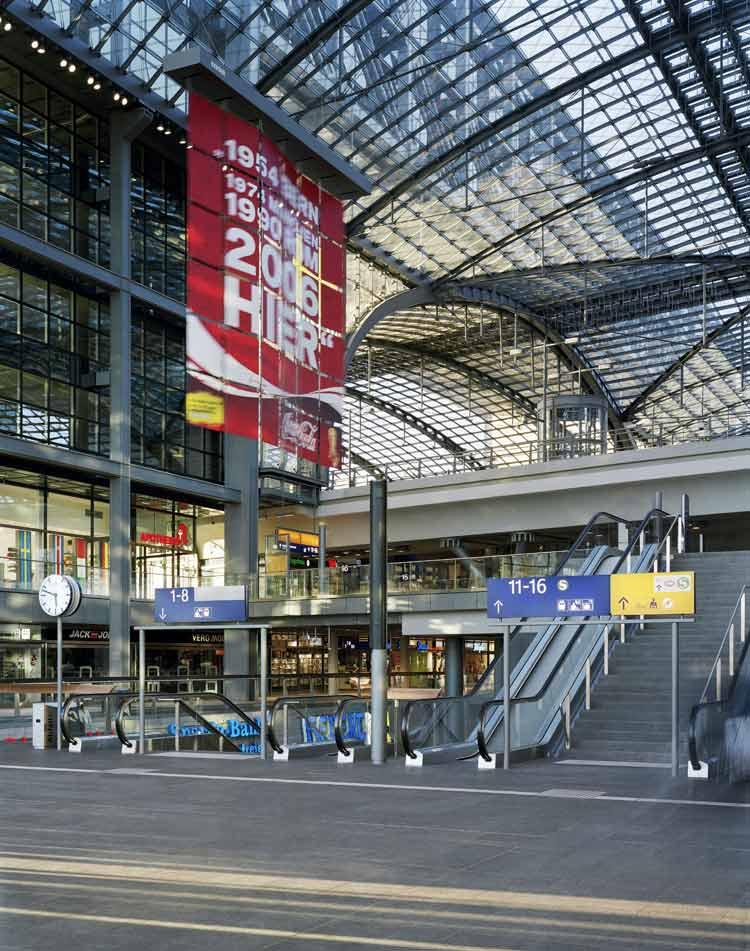 柏林中央火车站-建筑图
