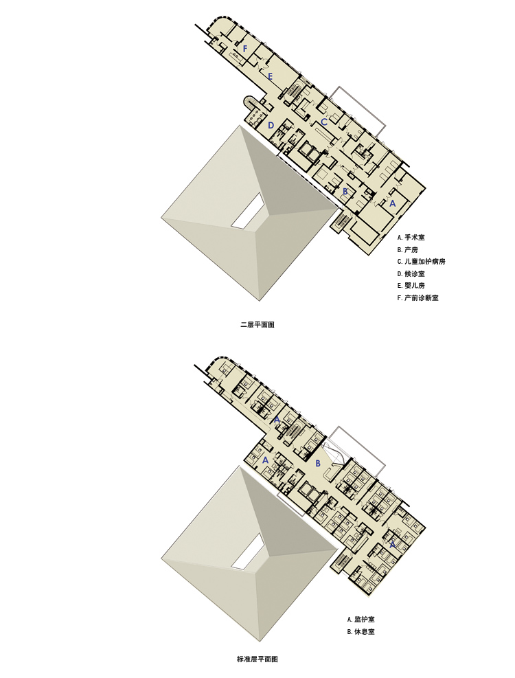 Kemang儿童医院-建筑图