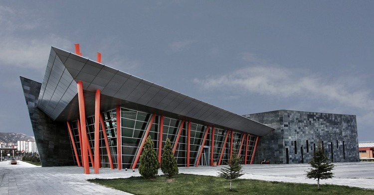 开塞利西城公交枢纽(Kayseri West City Bus Terminal)-建筑图